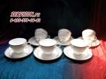 Чайные пары ИСКАНДЕР. Костяной фарфор Акку