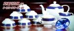 Чайный сервиз АРУЖАН (азиатский). Костяной фарфор Акку