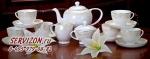 Чайный сервиз МИЛЛЕНИУМ. Костяной фарфор Акку