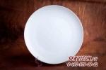 Тарелка круглая шар Акку, костяной фарфор