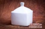 Сахарница квадрат, костяной фарфор Акку
