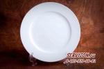 Тарелка плоская Акку, костяной фарфор