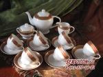 Чайный сервиз ТРИУМФ. Костяной фарфор Акку