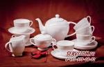 Чайный сервиз ДИАНА. Костяной фарфор Акку
