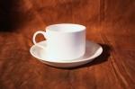 Чайная пара банкетная. Костяной фарфор Акку
