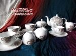 Чайный сервиз ЛЕЙЛА. Костяной фарфор Акку