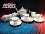 Чайный сервиз ИСКАНДЕР. Костяной фарфор Акку
