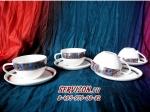 Набор чайных пар ТАМЕРЛАН. Костяной фарфор Акку