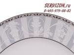 Набор тарелок 19см Сабина, Цветочный узор. Чехия, 6 штук