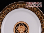 Набор тарелок 19см Сабина, Версаче. Чехия, 6 штук