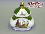 Шкатулка для чайных пакетиков, Мэри-Энн, Зеленая охота.Чехия