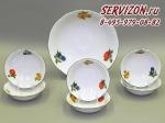 Набор салатников, Мэри-Энн, Фруктовые сады.Чехия, 7 предметов