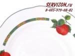 Набор тарелок 25см, Мэри-Энн, Фруктовые сады.Чехия, 6 штук