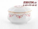 Шкатулка для чайных пакетиков, Соната, Розовые цветы.Чехия