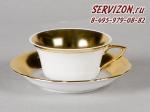 Чашка низкая с блюдцем Винзор 13120424-1111.Чехия
