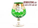 Набор стаканов, Лепка Зеленая, 400 мл., 6 штук