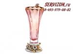 Ваза для цветов, Бибироуз Пикаделли Рубин, 35,5 см