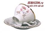 Чайные пары Бернадотт. Дикая роза. Чехия. (6 персон 12 предметов)