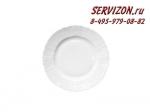Тарелка десертная Бернадотт. Белая посуда. Чехия. (19 см - 6 шт)