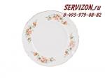 Тарелка десертная 19 см, Бернадотт, Весенний цветок, 6 штук